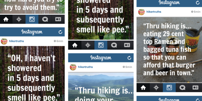 30 Thru-Hiking Truths You Won't See on Instagram