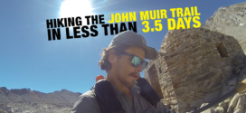 Hiking the 210-Mile John Muir Trail in Less 3.5 Days: An Interview with Andrew Bentz