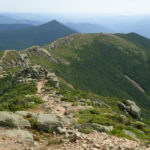 Franconia Ridge in the Whites-- 2 miles of exposed ridge line across Mt Lincoln & Mt Lafayette
