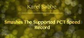 Karel Sabbe Claims New Supported PCT Speed Record