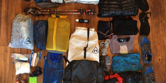 My Wonderland Trail Thru-Hike Gear List
