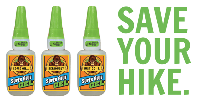 10 Ways Super Glue Can Save Your Hike Appalachian Trials