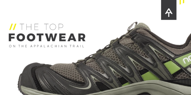 The Top Footwear on the Appalachian Trail: 2016 Thru-Hiker Survey - The Trek